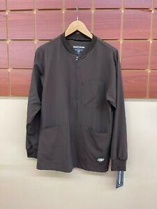 NEW Men's Skechers Brown XS Scrub Jacket NWT