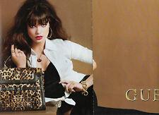 Publicité Advertising 2011  (2 PAGES)  GUESS sac à main pret à porter mode
