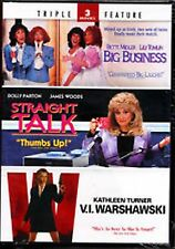 Big Business + Straight Talk + V.I. Warshawski Triple Feature DVD NEW sealed