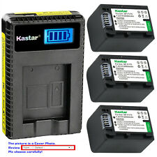 Kastar Battery LCD Charger for Sony NP-FH100 NP-FH70 NP-FH90 & BC-TRH BC-VH1