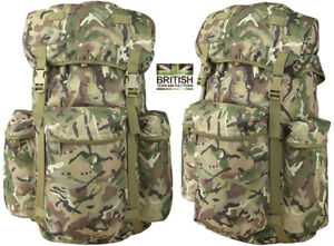 Army Combat Military Recon Rucksack Backpack Airflow Travel Pack BTP Camo 45L