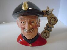 Royal Doulton Large Chelsea Pensioner Toby Jug D 6833 184/250  1988 Limited