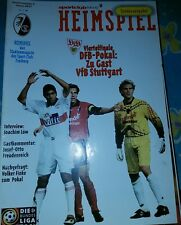1996/97 DFB Pokal SC Freiburg - VFB Stuttgart