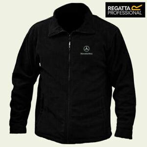 Mercedes Benz Regatta Fleece Jacket Embroidered Logo Winter Warmer Adults Unisex