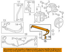 Chevrolet GM OEM 12-13 Impala Steering-Power Steering Cooler 22846972