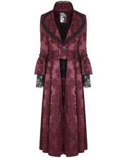 Cappotti e giacche da donna rossi poliestere bottone