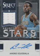 Andre Iguodala 2013 Panini Select Stars autograph auto card 11 /299