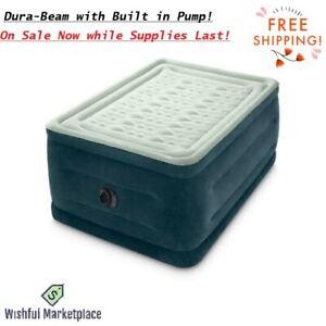 """24"""" Full Dream Pillow Top Dura-Beam Airbed Mattress Internal Pump Free Shipping"""