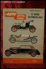 AMS Auto Motor Sport 7/61 75 Jahre Auto Jaguar E Lotus Mont