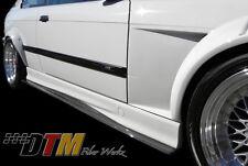 BMW E36 M3 92-99 GTR-S Side Skirt Diffuser Extensions Carbon Fiber 2x2