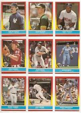 1988 Fleer Revco Drug Hottest Stars 44-cd Factory Set D Mattingly  &  M McGwire