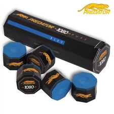 """Billard Kreide Billardkreide """" Predator 1080 Pure """"  blau 5er Pack"""