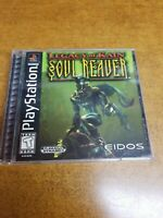 Legacy of Kain: Soul Reaver (Sony PlayStation 1, 1999) Black Label (CIB) Tested