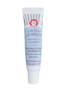 Fab First Aid Beauty Ultra Repair Lip Therapy Repair Dry Lips .5oz/14.8ml SEALED