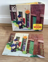 Vintage 1984 Postman Pat 20 Piece Wood Jigsaw Falcon Puzzle. Made in England
