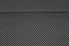 Baumwolle Punkte schwarz/weiss (10 cm)