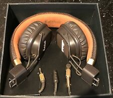 NEW MARSHALL HEADPHONES MAJOR II MKII Brown On-Ear Headphones Mic One Size
