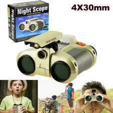 New ListingNight Vision Surveillance Scope Binoculars Telescope Pop-Up Light Gift for Kids