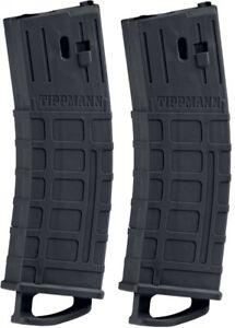 Tippmann 20-Schuss Magazin für TMC - 2er Pack Schwarz