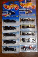 Hot Wheels 1995 Dark Rider Segment Series - Lot of 9 vehicles - no duplicates