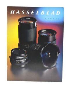HASSELBLAD 43 Page LENS Catalog / Brochure, c-2000s