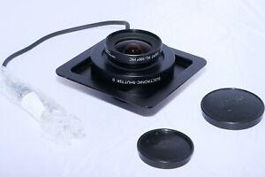 Schneider Apo-Digitar XL 47mm f/5.6 lens. Electronic shutter #0. Arca-Swiss boar