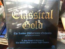 Classical Gold - London Philharmonic Orchestra 4x Vinyl Records LP Album. NEW