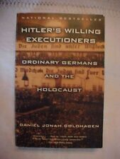 1997 Book, Hitler'S Willing Executioners: Ordinary Germans & Holocaust; Wwii; Sp