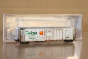 RED CABOOSE RM-21011-05 WEATHERED TROPICANA R-70-15 MECHANICAL REFER CAR 199005