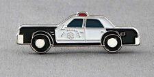 Metal Enamel Pin Badge Brooch Police Car American US Cop Car Lapd Siren Squad