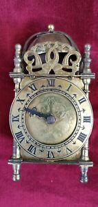 Vintage Smiths Brass lantern Clock - Spares or Repair