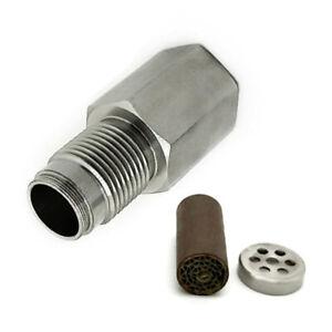 Car Check Engine Light Fix Catalytic Mesh Strong O2 Oxygen Sensor Spacer Metal