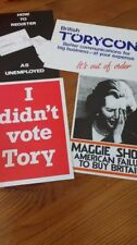 Margaret Thatcher Printed Collectable Political Postcards