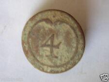BOUTON 4ème DE LIGNE 1er EMPIRE NAPOLEON 1er / GROS MODULE 23mm