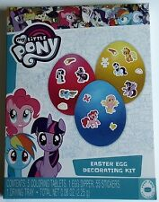 NEW My Little Pony Easter Egg Decorating Kit And Stickers FREE WORLD SHIPPING