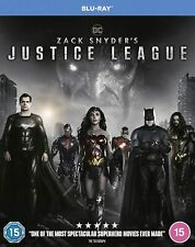 Zack Snyder's Justice League [2021] (Blu-ray) Ben Affleck, Henry Cavill