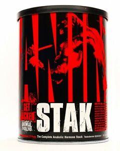 Animal Stak 21 Packs Universal Nutrition Testosterone Boost,Energy,Get Big Pack