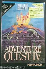 Adventure Quest IV 4 IBM/DOS Apple II Commodore 64