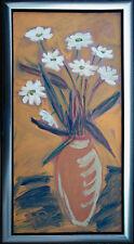 Felix Samuel Pfefferkorn *1945 Margeriten Acryl-Gemälde 100 x 50 cm WVZ IV-50