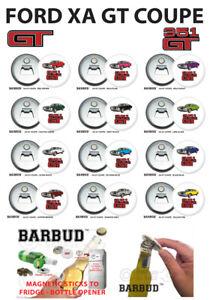 Ford XA GT 351 V8 - Coupe Hardtop - Magnetic Bottle Opener - BARBUD