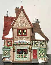 Department 56 House NETTIE QUINN PUPPETS Marionettes Dickens Village 58344