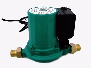 Jumbo AUTOMATIC On Off Hot Water Shower Booster Pump Gravity Fed 55 L/min