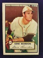 1952 Topps Baseball Card # 229 Gene Bearden