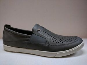 ECCO MEN'S COLLIN COMFY SLIP-ON SUMMER SHOE, PERFORATED