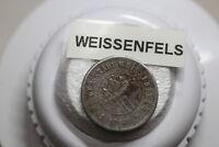 GERMANY WAR MONEY TOKEN WWI 50 PFENNIG 1918 IRON WEISSENFELS A83 #4656