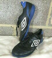 Umbro Classico 4 TF Trainers UK Size 8 - Astro Turf - Blue/Black - Good - Used