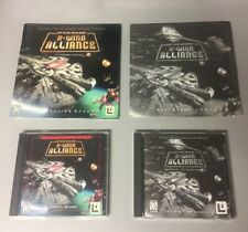 Star Wars X-Wing Alliance + Imperial Entanglements Exp PC CD-ROM LUCASARTS
