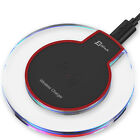 JETech Qi Wireless Charger Pad Charging Dock for iPhone X iPhone 8 Galaxy Note 8