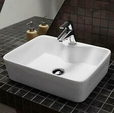"""New Ceramic Counter Top Table Top Wash Basin Decor Sink 19"""" x 15"""" x 5"""""""