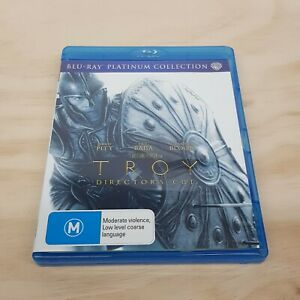 TROY: DIRECTORS CUT (2007) Blu ray Inc Special Features (Tracked Post)